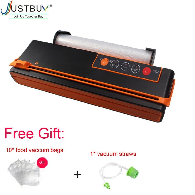 With Cutter Automatic 150W Vacuum Sealing Machine Vacuum Sealer Fresh Packaging Machine Food Saver Vacuum Packer