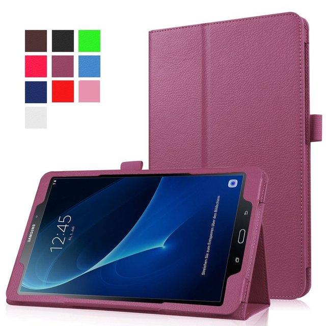"""Cubierta para Samsung Galaxy Tab A 10,1, premium de cuero de la PU cubierta Tab A6 10,1 """"2016 Tablet SM-T580/T585 Auto dormir/despertar caso"""