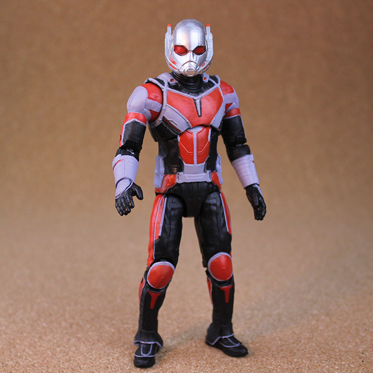 17cm/6.5in Ant-Man Action Figure Marvel American Superhero Future Fight Tier-2 Uniform Toy Figurine PVC Model Free shipping new 5pcs marvel superhero ant man wasp yellow jacket action figure toys doll