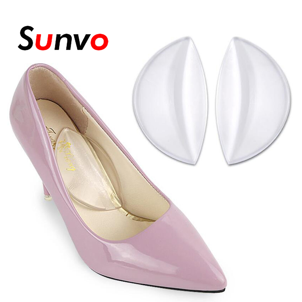 Insoles Silicone Gel Arch Support Pad For Women Flat Foot Orthopedic Inserts Pain Relief High Heel Shoe Sandal Orthotic Inserts