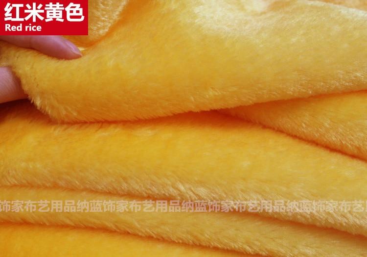 WOVEN PINK Plain Fun Faux Fur Fabric Material