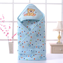 Newborn Blanket Swaddle Quilt Baby Blankets Newborn Swaddle Wrap Sleeping Bag Stroller Wrap