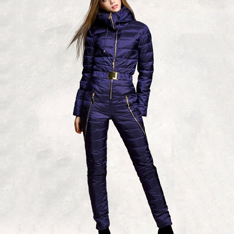 New Design Women Ski Suits Winter Jacket Pants Ladies