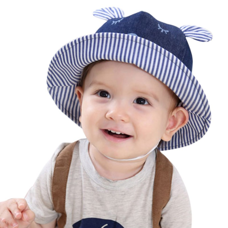 יילוד קיץ כובעים כובעים בייבי סאן - ביגוד לתינוקות