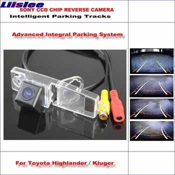 Intelligentized Rückfahr Kamera Für Toyota Highlander/Kluger Rückansicht Back Up/580 TV Linien Dynamische Beratung Tracks