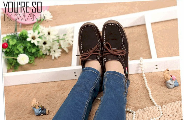 Summer style women casual shoes 2016 new fashion leather women shoes solid lace up flat shoes woman chaussure femme BT468 (15)