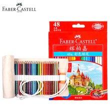 Ограниченное предложение Faber Castell 48 ярких Цвета Книги по искусству рисунок Цветные карандаши набор для профессионального взрослые книжки-раскраски, эскизы, живопись