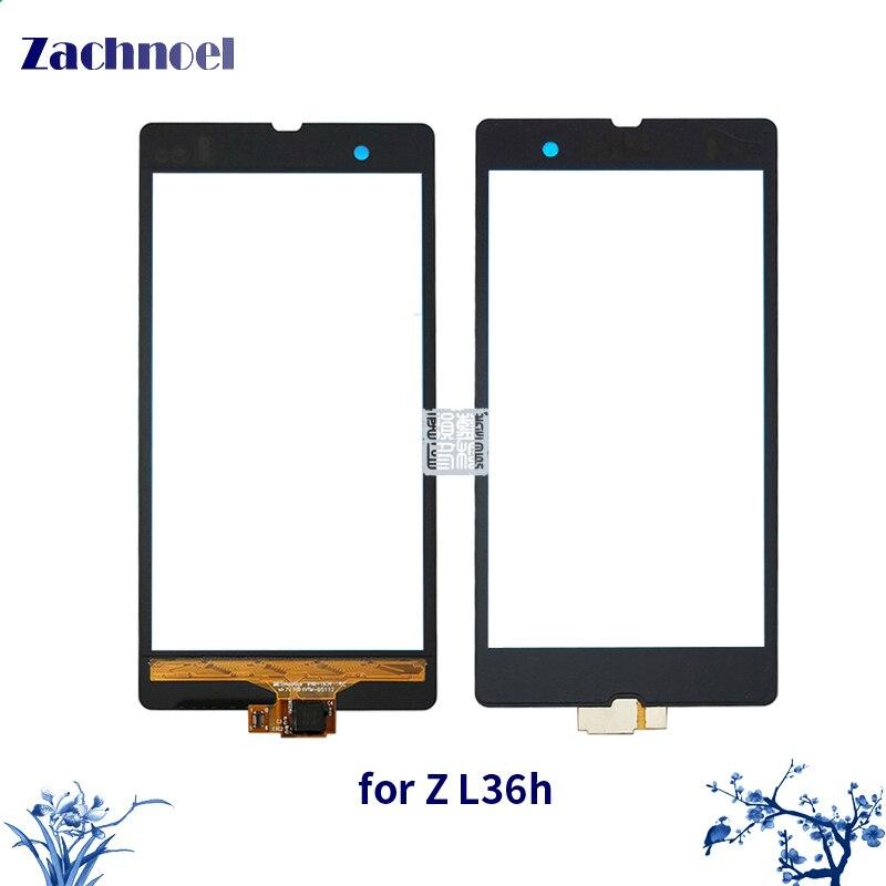 Zachnoel 5.0 ''Touch per Sony Xperia Z L36h L36 C6602 C6603 Touch Screen Digitizer Lente del Sensore Pannello Frontale In Vetro Touchscreen