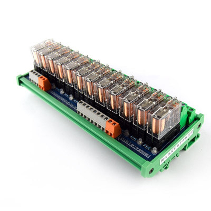 12-way relay module G2R-2 PLC amplifier board relay board relay module 24V12v compatible NPN/PNP12-way relay module G2R-2 PLC amplifier board relay board relay module 24V12v compatible NPN/PNP