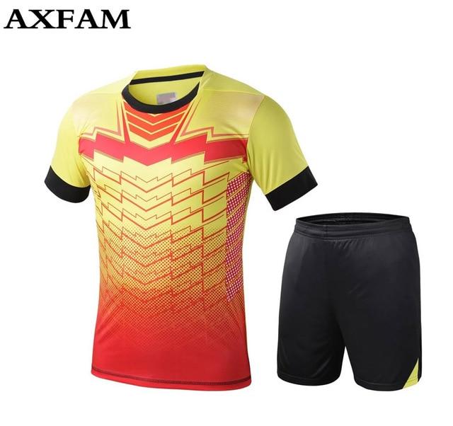 963174ad77867 DIY personalizado camisetas de fútbol conjuntos del equipo de fútbol juego  de entrenamiento de fútbol de