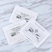 Acrylic Resin Drill Stick Sticker Handpicked Bohemia And Tribal Style Face And Eye Jewels Forehead Stage Decor Eyeshadow Sticker