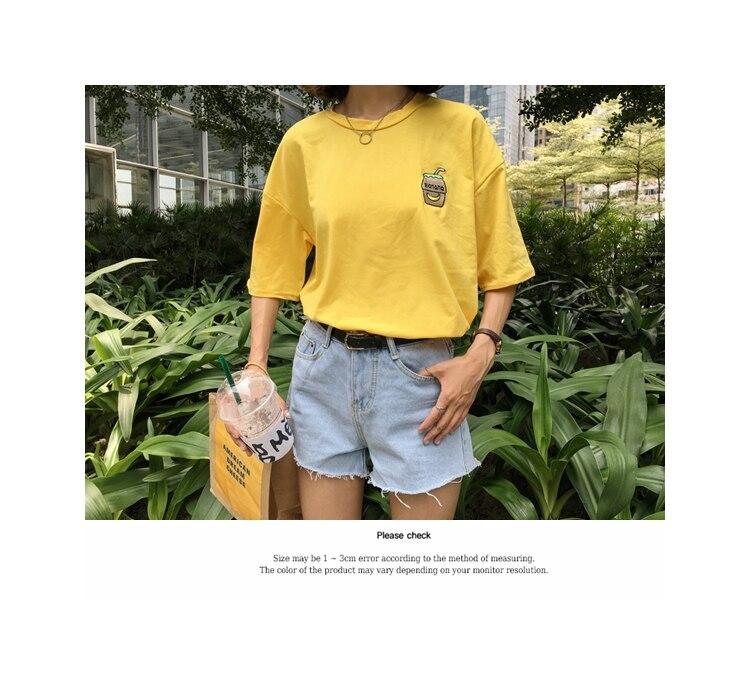 HTB16NsJKFXXXXbsXFXXq6xXFXXXV - Summer New Cute Banana Milk Embroidered T-shirts PTC 192