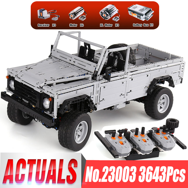 In Stocks Lepin 23003 Technic Series 3643Pcs MOC RC Wild off-road vehicles LegoINGl model Building Blocks Bricks toys boys gifts lepin 20011 technic series super classic limited edition of off road vehicles model building blocks bricks compatible 41999 gift