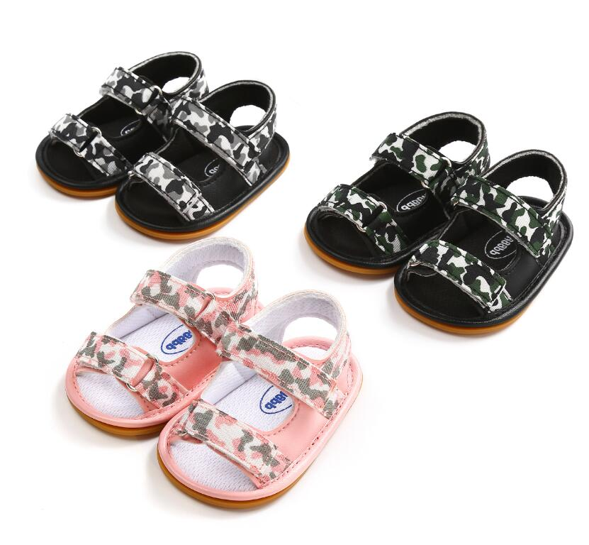 New Summer Breathable Baby Boys girls shoes Kids Camo Hollow Out Anti-skid Casual Baby C ...