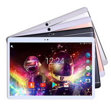 Latest Deca Core 10 Inch tablet 1920*1200 IPS Android 7.0 Tablet Pc 4GB RAM 64GB ROM Handhold Dual SIM Bluetooth GPS 8.0MP+Gifts