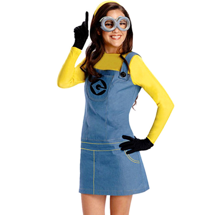 Minion Adult Costume Minion Costume Women Minions Men Jumpsuits +glasses+black gloves+hat Minion Costume-in Movie u0026 TV costumes from Novelty u0026 Special Use ...  sc 1 st  AliExpress.com & Minion Adult Costume Minion Costume Women Minions Men Jumpsuits + ...