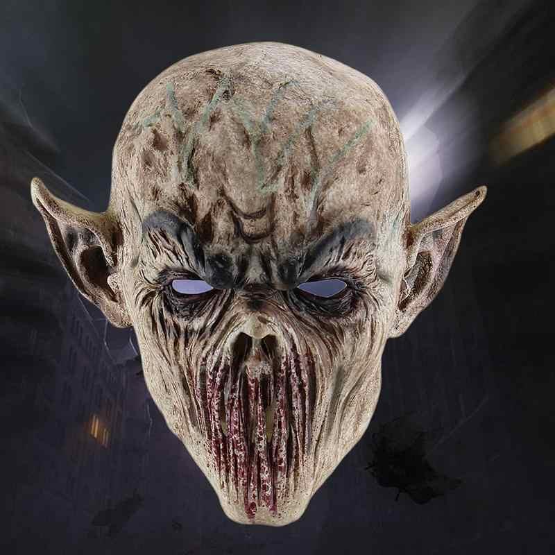 Halloween straszne realistyczne Ghastful Creepy straszny potwór maska Cosplay kostiumy Masquerade dostarcza Party rekwizyty