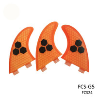 FCS Fin Surf Boards Fins FCS G5 3PCS Per set Surfing Fin Quilhas thruster