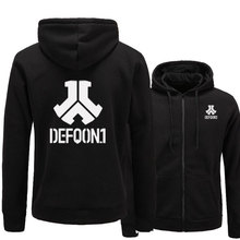2017 New Defqon 1 Rock Band Hip Hop Men Hoodies Sweatshirts Winter Autumn Zipper Fleece Casual Jackets Hoodie male clothing