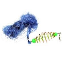 2017 New Design Copper Spring Shoal Fishing Net Netting Luminous beads Swivel fishing lure fishing hooks fishing tackle