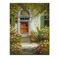 NEW 100% hand painted oil painting high quality wall landscape pictures for living room DM 15110310