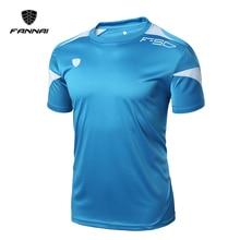 FANNAI Brand 2018 New Men Short Sleeve Soccer Jerseys Men Pr