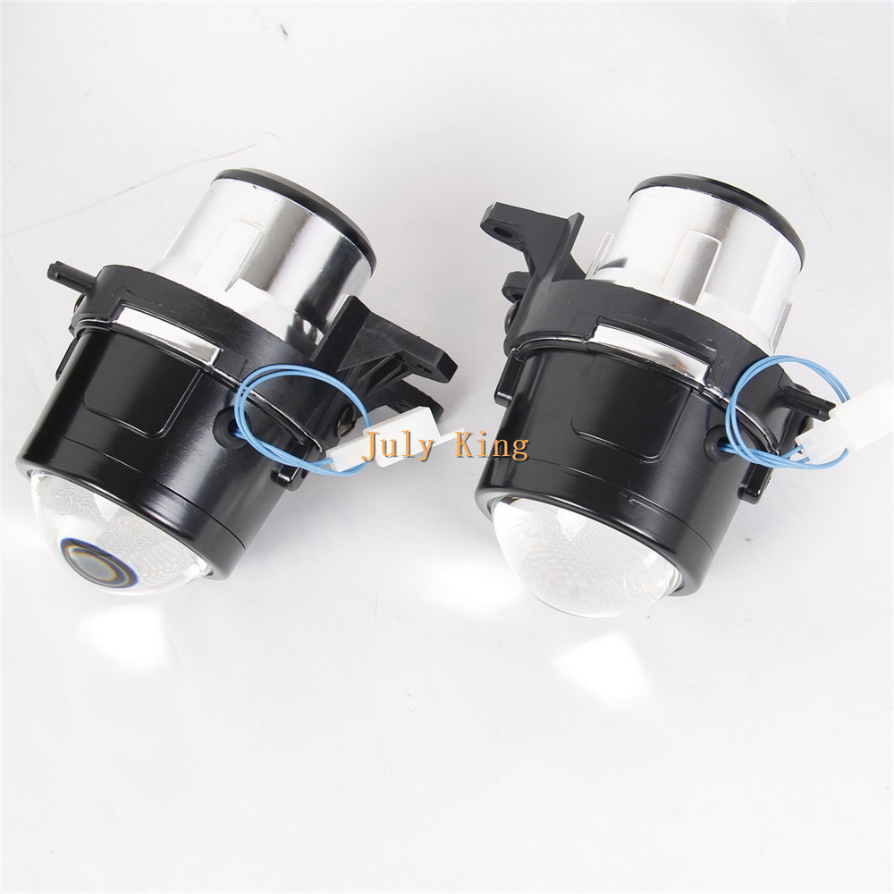 July King Car Bifocal Lens Fog Lamp, Front Bumper Fog Lamp Assembly Case for Volvo S40 C30 C70, made at TAIWAN, high Quality gztophid car bifocal fog lens front bumper lights bifocal lens assembly for volkswagen tiguan 10 12 taiwan product