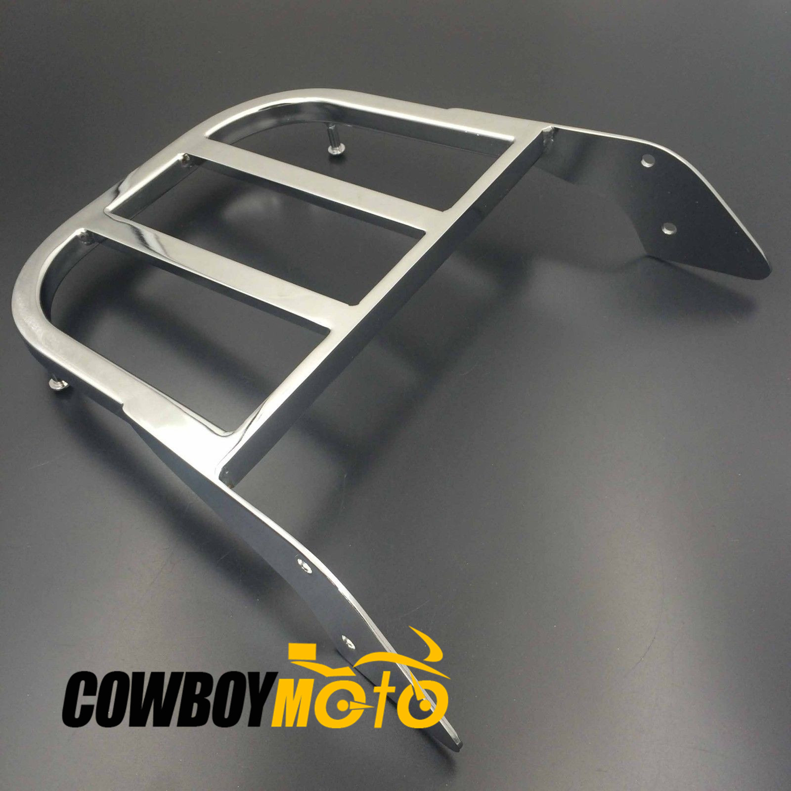Motorcycle Sissy Bar Luggage Rack Carrier For Honda ACE 750 Spirit Aeri 1100 VLX 600 Magna Tourer Chrome
