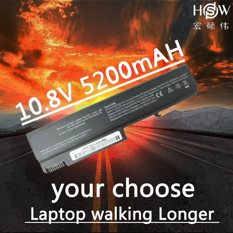 HSW new battery for hp Compaq Business Notebook 6500b 6530b 6535b 6700b 6730b 6735b HSTNN LB60 HSTNN XB60 HSTNN OB60 484788 001 in Laptop Batteries from Computer Office