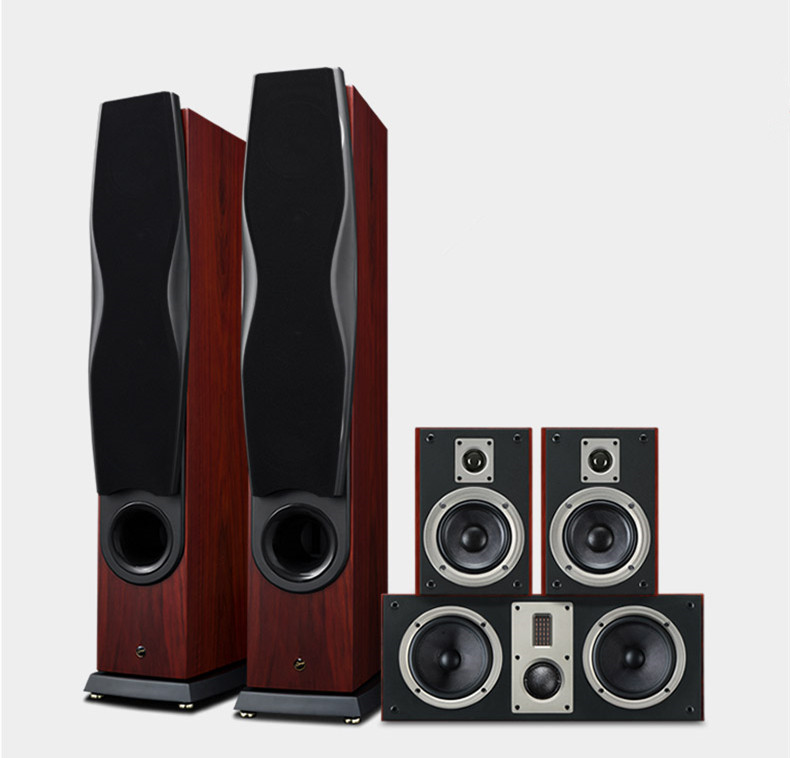 RM600A 5.0 Pieces/Set/Kit Home Theater Speakers Theater speaker loudspeaker system with 3-way 4th-order vented box system pioneer home theater system mcs 434 japan import