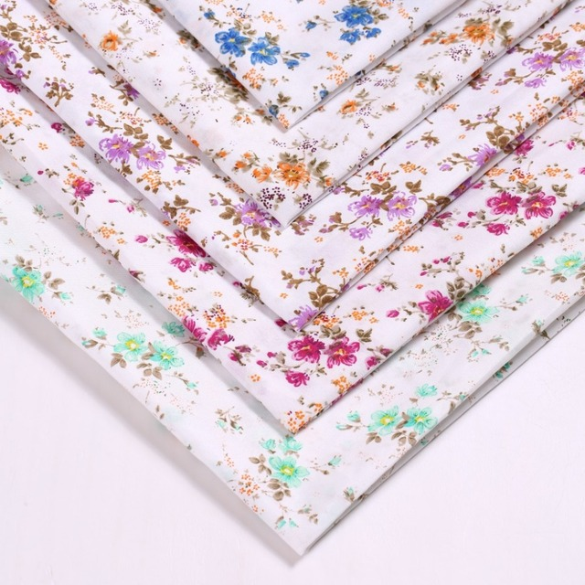 150cm wide Flower racks polyester fabric / calico manufacturers ...