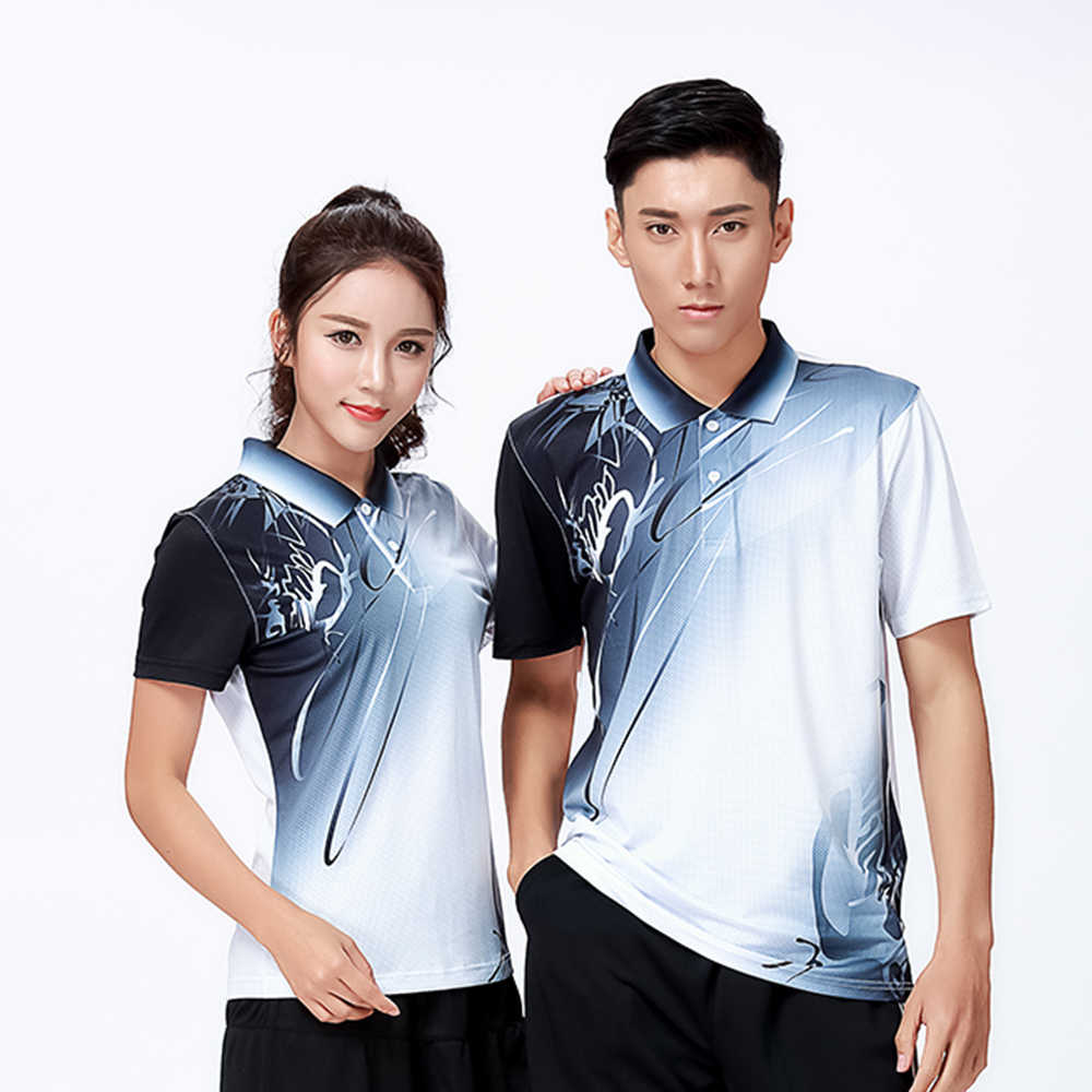 New Sports clothes Badminton wear shirts Women/Men's ,sports Tennis shirt , Table Tennis shirt , Quick dry sportswear shirt 8810
