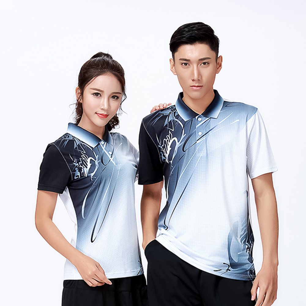 New Sports clothes Badminton wear shirts Women/Men's ,sports Tennis shirt , Table Tennis shirt , Quick dry sportswear shirt 8810 2018 summer new badminton dress women speed dry badminton suit sports suit women s dress