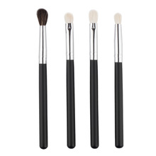 4 pcs/bag tiny sets profesional makeup brush beauty tools cleaner kit blending eyeshadow cosmetic naked powder trucco sgm