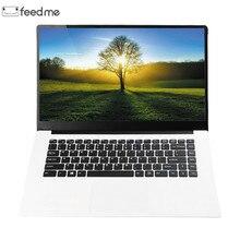 Feed me 15.6 polegada Laptops Intel Z8350 Quad Core 64 4 GB RAM GB ROM 1920X1080 Janelas LapBook 10 2MP Câmera para Jogos Escritório