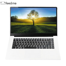 feed me 15.6 inch Laptops 4GB RAM 64GB ROM Intel Z8350 Quad Core 1920X1080 LapBook  Windows 10 2MP Camera for Office Gaming