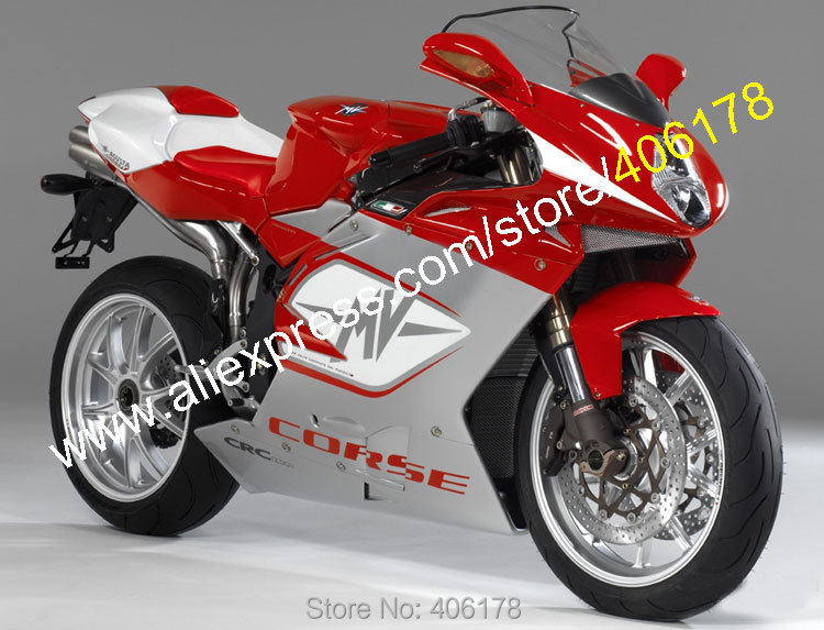 Hot Sales,Red Gray fairings For MV Agusta 1+1 R312 F4 1000 2005 2006 F4 1000 05-06 Moto Parts Motorcycle Fairing Kit