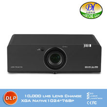 DH-8805 Ultra short DLP Projector Highlight Outdoor Building  Digital zoom Proyector 3D laser 10000lms Full HD Long life beamer