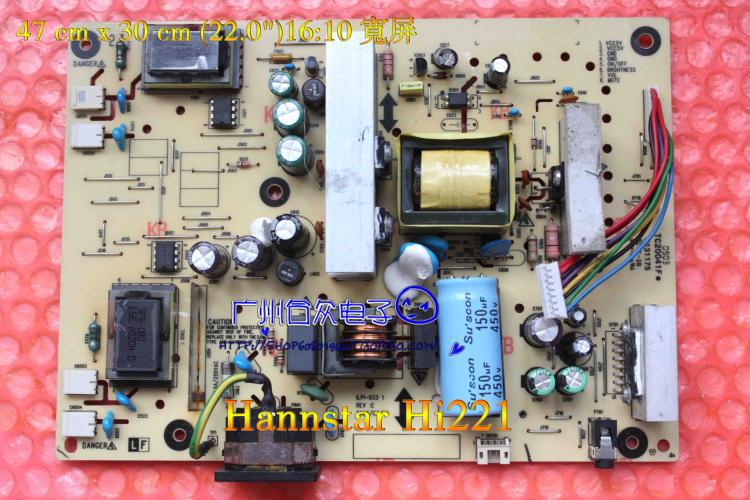 Free Shipping>Original 100% Tested Working Hi221 Power Board ILPI-033 491241400101R Inverter free shipping 1940wcxm power board l195h0 nw999 vp 931 original 100% tested working
