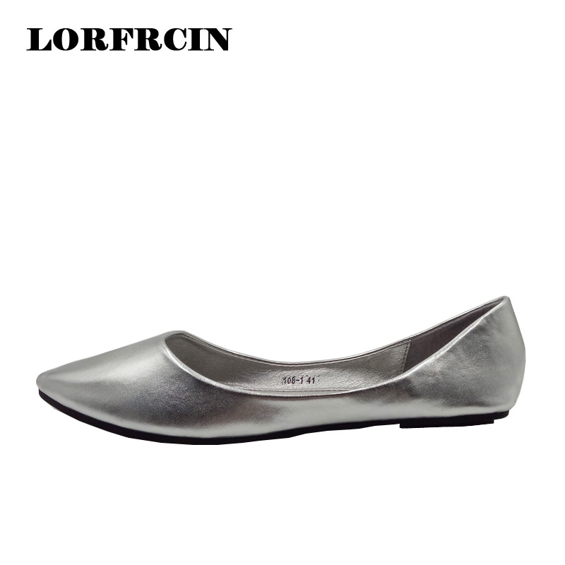 spring autumn loafer women shoes ladies ballet flats woman ballerinas casual shoe sapato zapatos mujer womens shoes plus size 43 Spring Summer Shoes Ladies Shoes Casual Womens  Ballet  Flat Shoes Women Party Shoes Plus Size 35-41 zapatos planos mujer