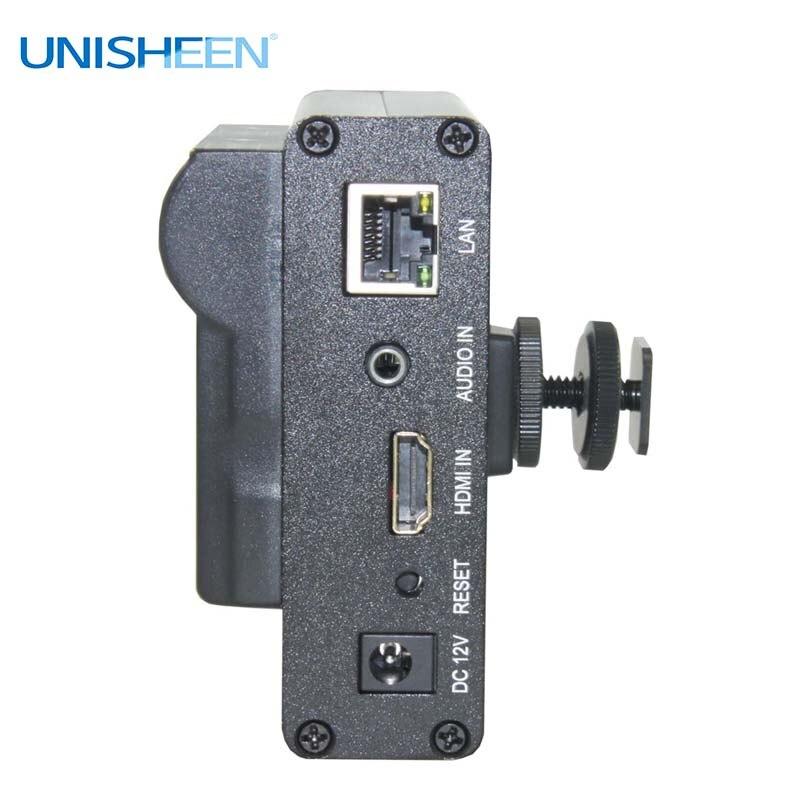 Image 5 - Unisheen H.265 H.264 IPTV فيديو التشفير 2.4G 5.8G wifi HDMI جدا طويلة الحياة vmix wowza يوتيوب الفيسبوك ip rtmp البثبطاقات موالف الفيديو والتلفزيون   -