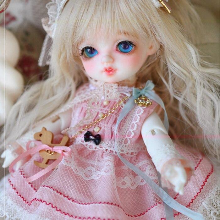 Rosenlied RL Bambi bjd sd doll 1/8 body model boys or girls bjd doll oueneifs High Quality resin toys free eye beads makeup shop