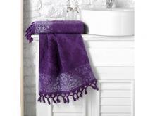 Полотенце для рук и лица KARNA, OTTOMAN, 50*90 см, фиолетовый
