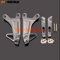 Rear footpegs Foot pegs Footrest Pedals Bracket For CBR600RR CBR 600RR 600 RR F5 2003 2004 2003 2004 03 04 Motorcycle