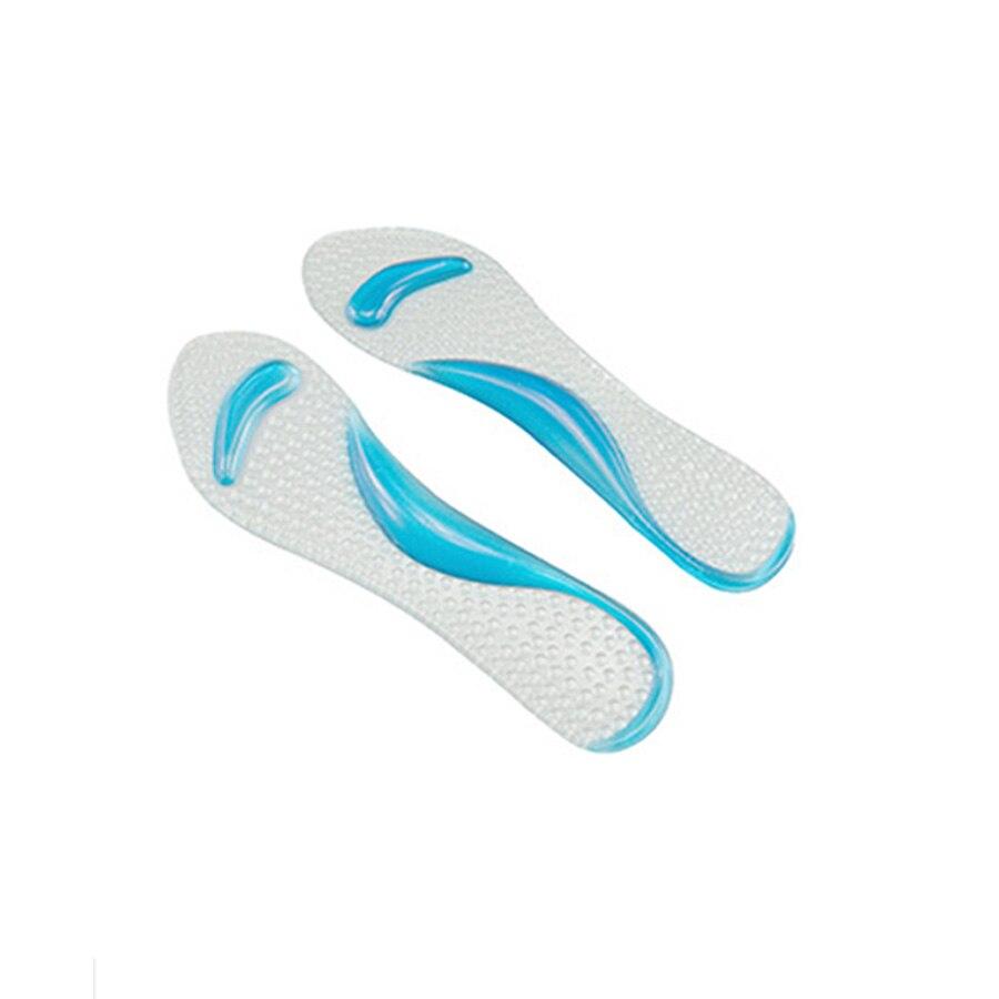 1 pairfemale женские мягкие гель стельки 3/4 женская обувь Pad с нескользящей арки Поддержка и Подушки ортопедии Уход за ногами massagec591