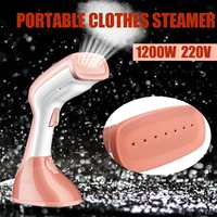 220V 1200W 800W Mini Portable Handheld Electric Garment Steamer Iron Steaming Brush Steam Household Appliance Clothes Steamer