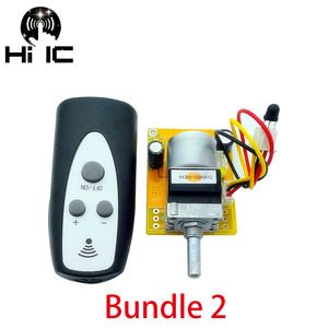 Image 4 - Latest Version HiFi Infrared Remote Control Volume Control Adjust Board APLS Amplifier Preamp Motor Potentiometer Adjusts Volume