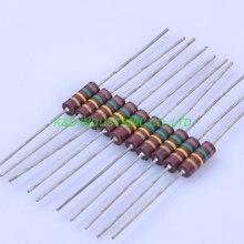 цена на 10pcs Carbon Composition vintage Resistor 0.5W 150K 0.33ohm 5 %