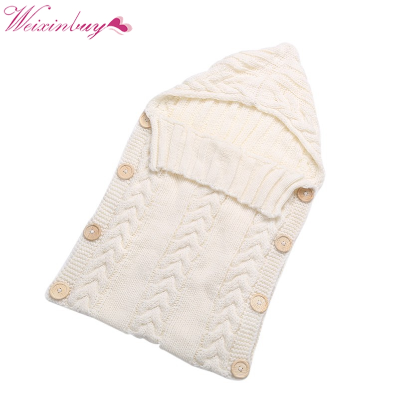 Newborn Toddler Baby Wrap Swaddle Blanket Kids Wool Knit Blanket Swaddle Baby Sleeping Bag Sleep Sack Stroller Wrap promo sale chunky knit blanket wool knit throw blanket super bulky yarn blanket bulky gift 100cm 100cm