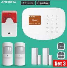 Original WIFI gsm alarm system Touch Keyboard IOS Android APP 433MHz Home Burglar Wifi GSM GPRS